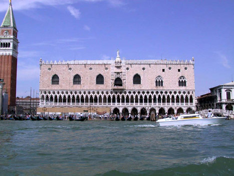 600El Palacio Ducal en Venecia