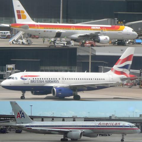 EEUU autoriza la alianza entre American Airlines, British Airways e Iberia