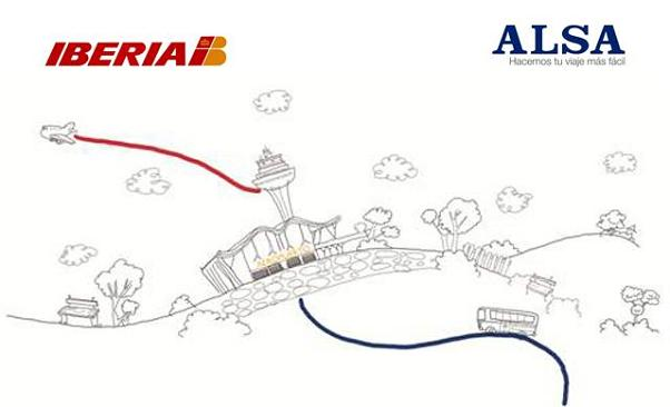 Alsa e Iberia lanzan Bus and Fly