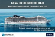 10530Rumbo sortea un crucero de lujo con mayordomo
